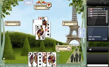 Jouer belote en ligne gratuitement, jeu sans téléchargement